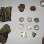 Huge mansion gives up 7 silvers and modern coin cache – Metal Detecting Finds