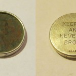Penny inside silver – neat metal detecting find
