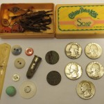 Old bulldozed home gives up lots of silver quarters – metal detecting finds