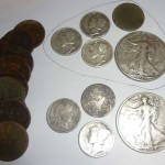 Awesome silver coin spill makes 8 silver day with 2 halves – Metal detecting finds
