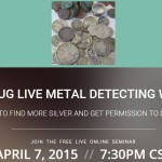 Live Metal Detecting Seminar – How to find lots of silver coins and get permission to detect